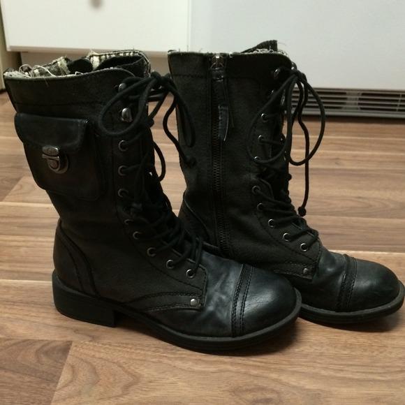 roxy combat boots