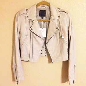 Joie Jackets & Blazers - NWT Joie Leather Moto Biker Jacket