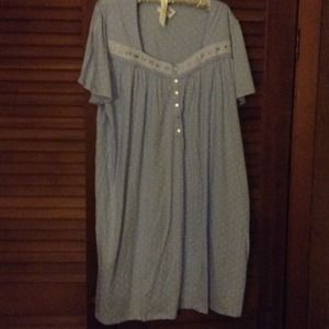 Other - Plus size Blue nightgown