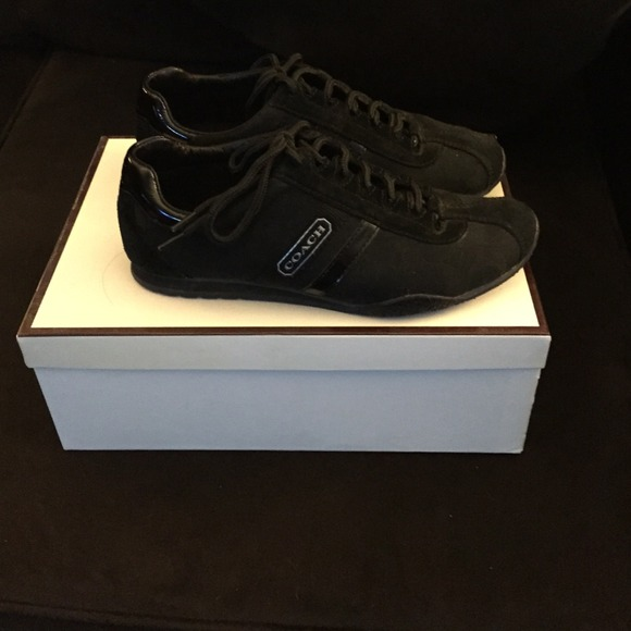 Coach Shoes - All black coach sneakers