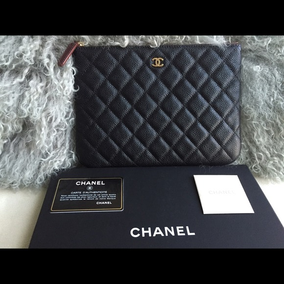 2722444cc535 CHANEL Bags | Sold On Ebayauthentic O Case Clutch Bag | Poshmark
