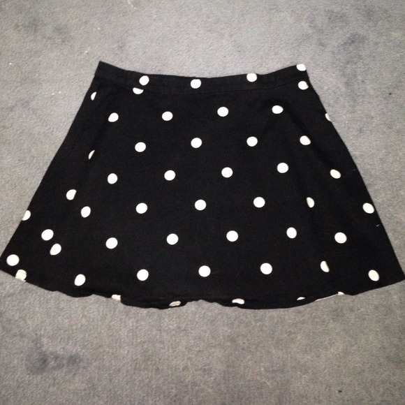 6fa0e0b139 H&M Skirts | Polka Dot Skirt Hm | Poshmark