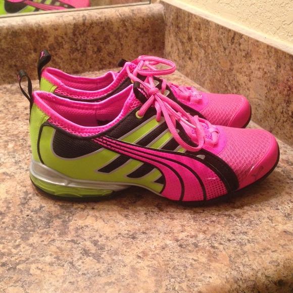 Puma women's Eco ortholite running shoes NWT
