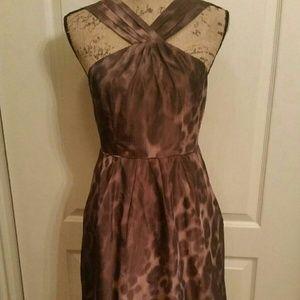 Banana Republic Dresses Shiny Leopard Print Dress Poshmark