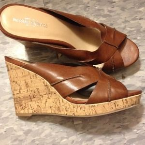 Mossimo supply co wedges!