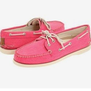 Sperry Top-Sider Shoes - J crew pink sperry