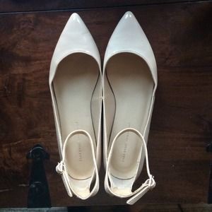Zara Shoes - Nude Patent Leather Flats