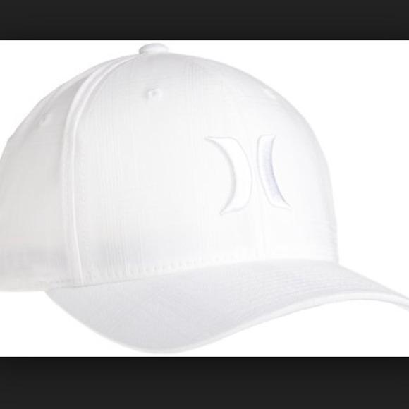 3e78b1c35 All white Hurley hat