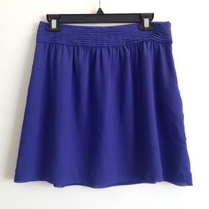 LOFT Dresses & Skirts - REDUCED ✔️ Purple / Blue Chiffon Skirt