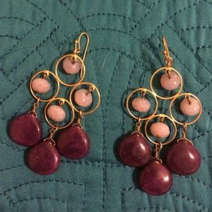 David Aubrey Semi-Precious & Gold Fill Earrings