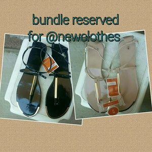 Shoes - Bundle reserved for @newclothes