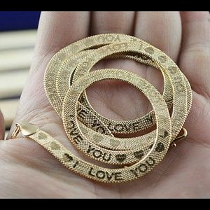 Jewelry - I love you! Stamped!!