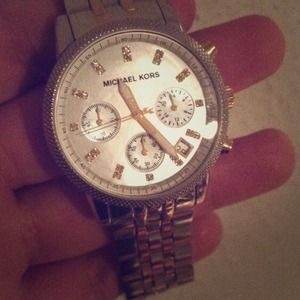 Michael Kors- Ritz Two tone gold silver watch