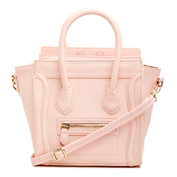 2% off DAILYLOOK Handbags - Blush baby pink structured mini tote ...