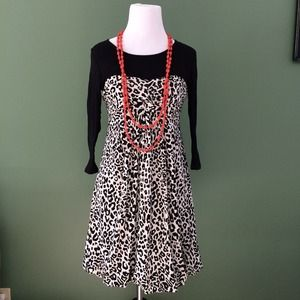 ❤️3 for $30! ❤️ Forever 21 animal print dress