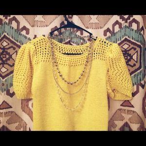 ☀️ Yellow Sweater
