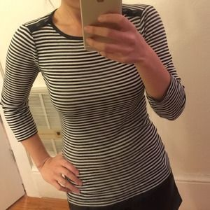 J. Crew Tops - J.Crew striped tee