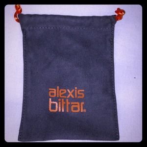 Alexis Bittar dust bag