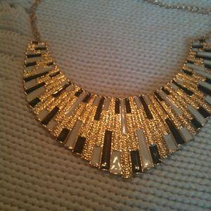 Bib necklace make a statement