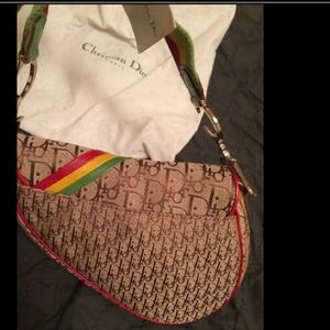 Dior Bags - Christian Dior Rasta saddle bag d23881f156e80