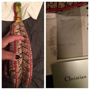 cc859e5347a1 Dior Bags - Christian Dior Rasta saddle bag