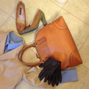 Nocle st.gilles  Handbags - ❤️50% off sale❤️cognac  leather bag
