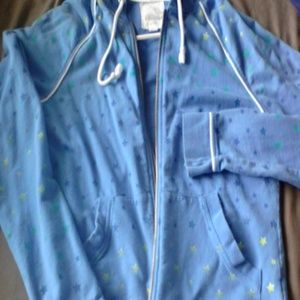 Blue zip up jacket bought from pacsun