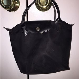 Longchamp mini handbag black