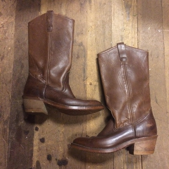95% off Vintage Boots - Red Wing Cowboy Boots from Annemarie's ...