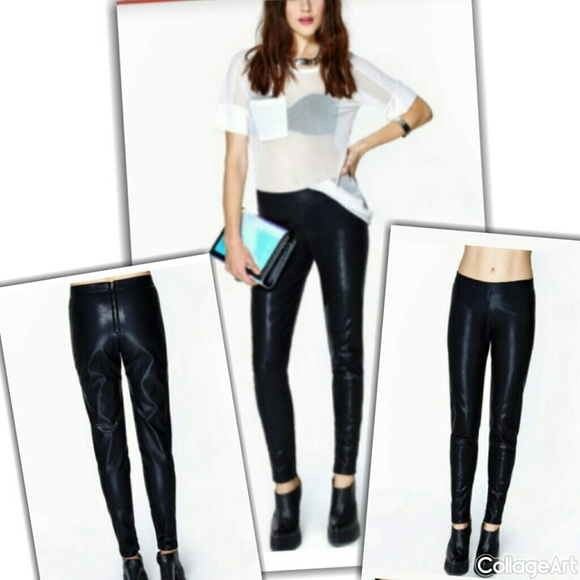 Lucca Couture Pants - Lucca Couture  Instigate  Faux Leather  Pants