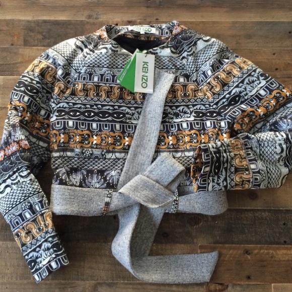 Kenzo NWT short Egyptian print jacket