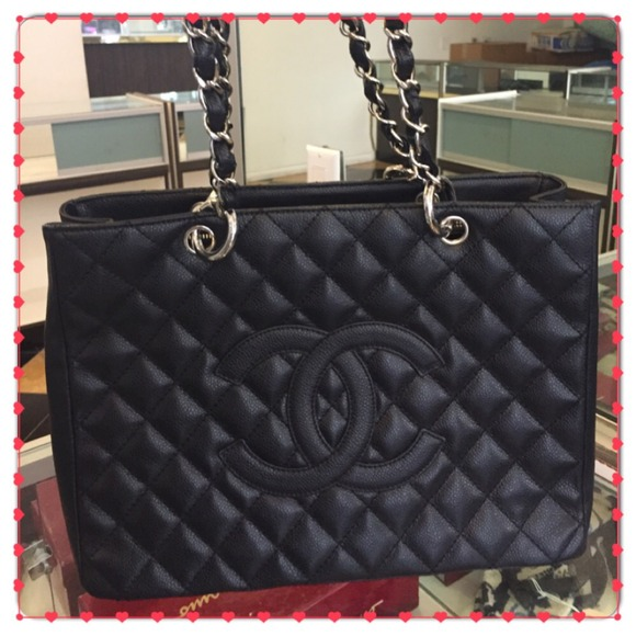 chanel grand shopping tote review