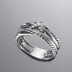 ISO Auth DAVID YURMAN Crossover Ring