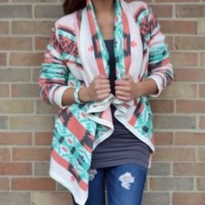 Sweaters - Tribal Cardigan (made famous by Emily Maynard)!