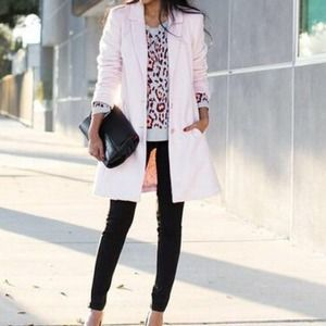 Macy's Outerwear - Pink coat from Macy's by Maison jules -