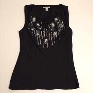 Banana Republic Sparkle Sleeveless Blouse