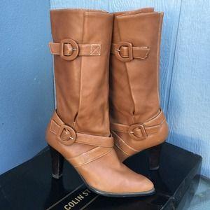 Colin Stuart Shoes - T2 🌟HP🌟 Colin Stuart tan leather boots.