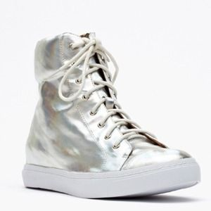 Jeffrey Campbell Shoes - BRAND NEW! Jeffrey Campbell Holographic Sneakers