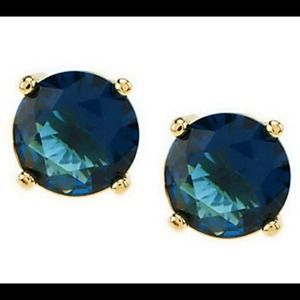 C Wonder Dark Blue Studs