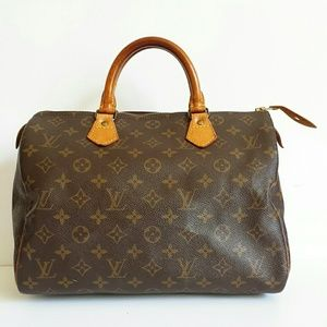PM Editor Pick! LOUIS VUITTON Speedy 30 Satchel