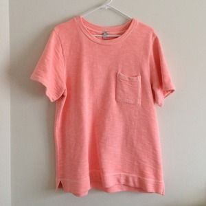 J.Crew Coral sweater top size XL
