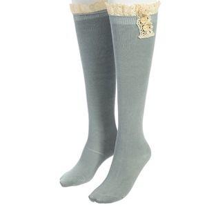 Sage Green Boot Socks