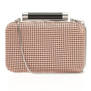 Diane von Furstenberg Clutches & Wallets - DVF Tonda Mesh Chain Clutch