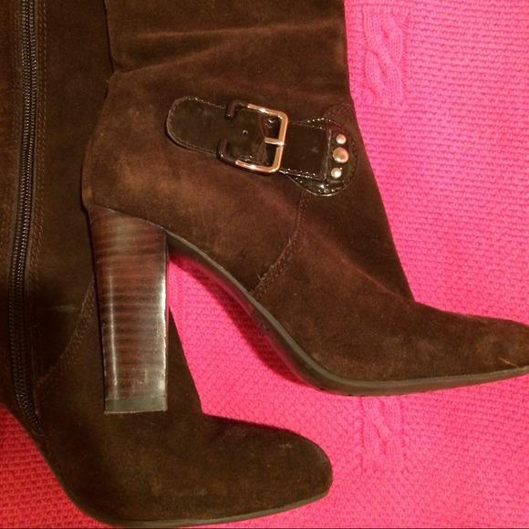 67 franco sarto shoes franco sarto suede high heel