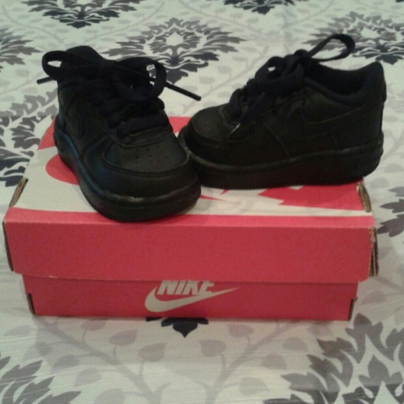 75% off Nike Other - SOLD LOCALLY***Nike Black Air Force One baby ...