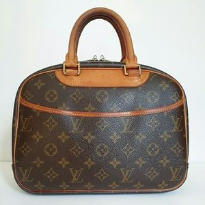 LOUIS VUITTON Trouville Satchel
