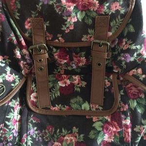 Olsenboye Accessories - Floral backpack