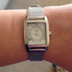 Casio Accessories - Silver Casio Watch