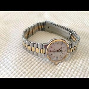 Longines Jewelry - Authentic Longines Conquest Quartz Women's Watch