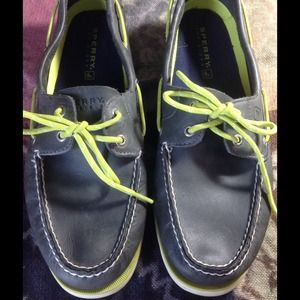 Sperry Top-Sider Shoes - MENS LEATHER SPERRYS BOAT SHOES